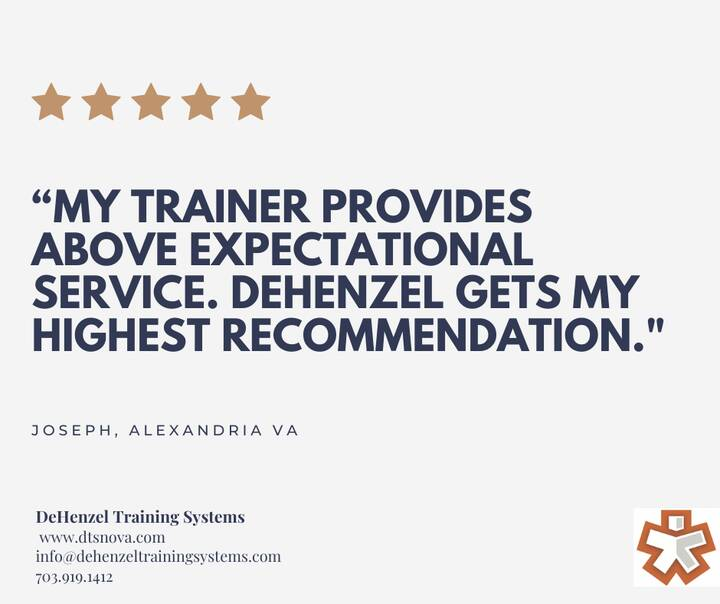 Photos from DeHenzel Training Systems - In Home & Virtual Personal Training's post