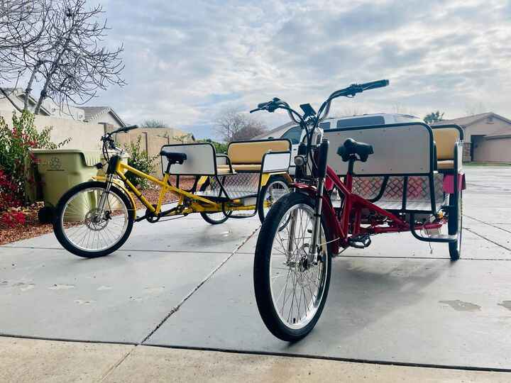 Photos from Electric Pedicabs's post