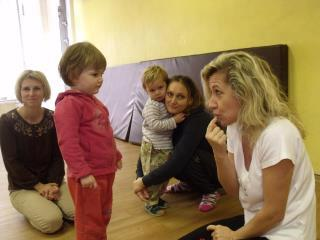 Cvičení s tetou Ivou -pátek